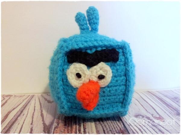 Oomanoot | Crochet Ice Angry Bird Tutorial