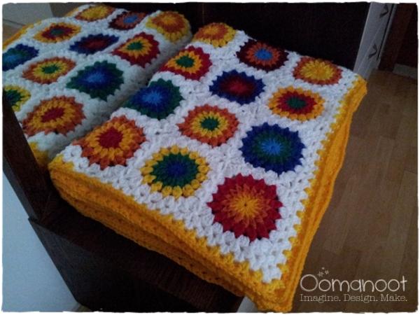 Granny Blanket Folded